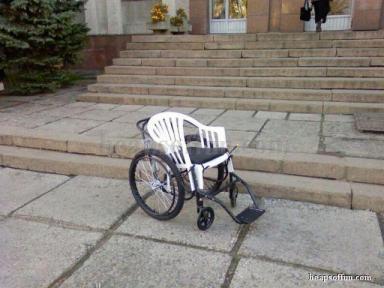 funny wheelchair photos