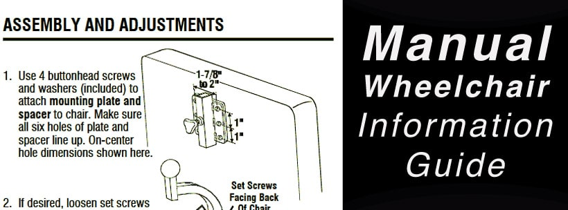 Manual Wheelchair Information Guide