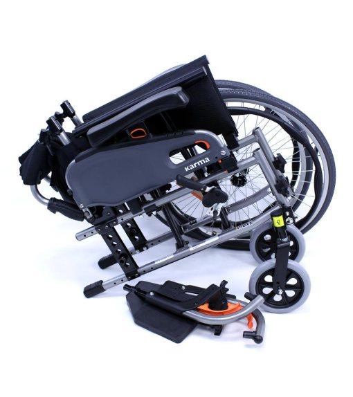 flexx wheelchair in pieces