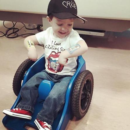 Wheelchair Bound Kid not Allowed to Upgrade