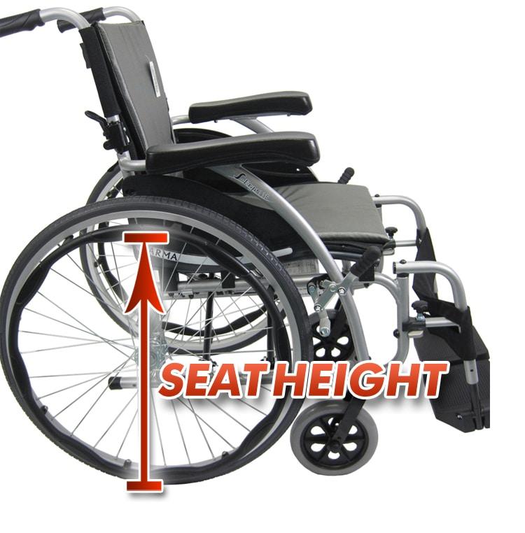 Wheelchair Seat Height
