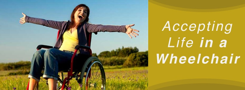 accepting life in wheelchair