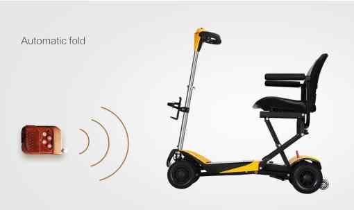 volare power scooter remote control