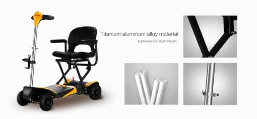 volare foldable electric scooter titanium alloy