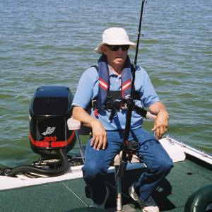 fishing in a wheelchair