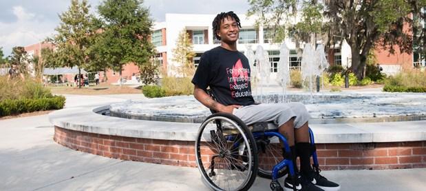 user wheelchair hero