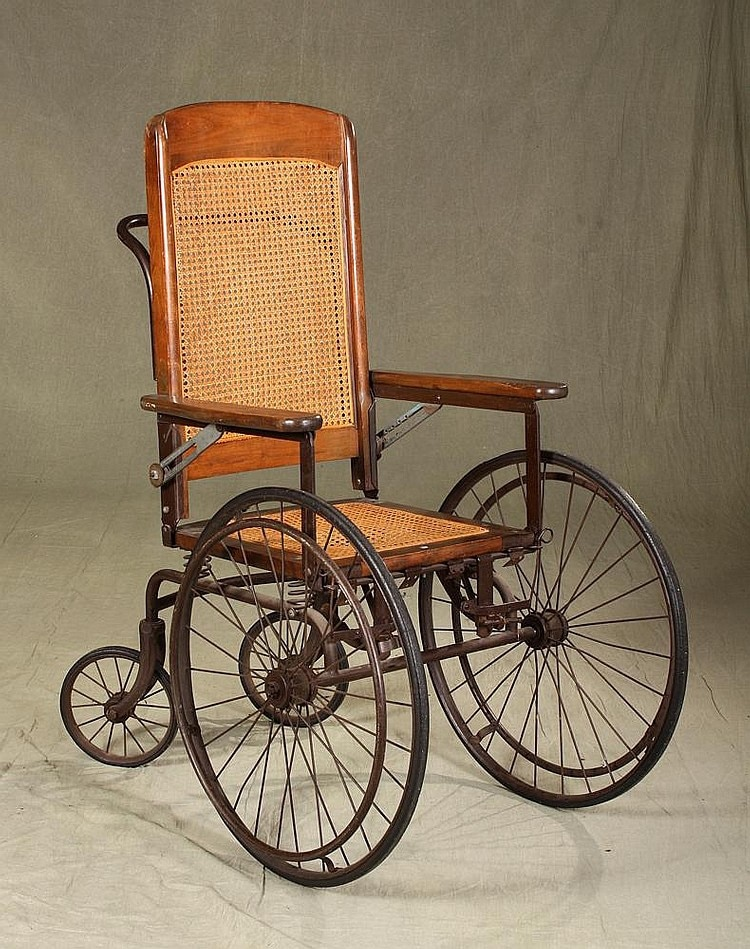 karman evolution of wheelchairs ww3 era in lobby