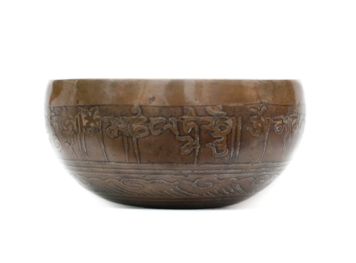 Singing Bowl Decorated