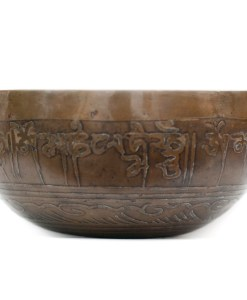 Singing Bowl Decorated