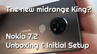 Nokia 7.2 Unboxing