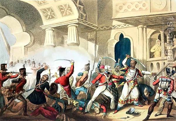 The Storming of Seringapatam
