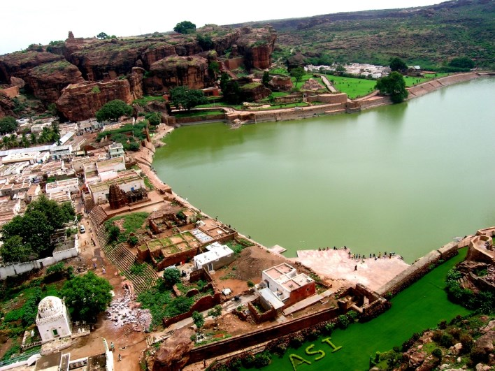 Agastya Teertha Kalyani - One of the most picturesque settings in Badami