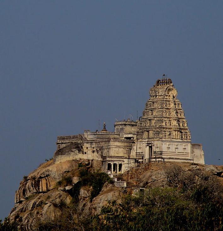Near Mysore, Yoga Narasimha Temple, Melukote