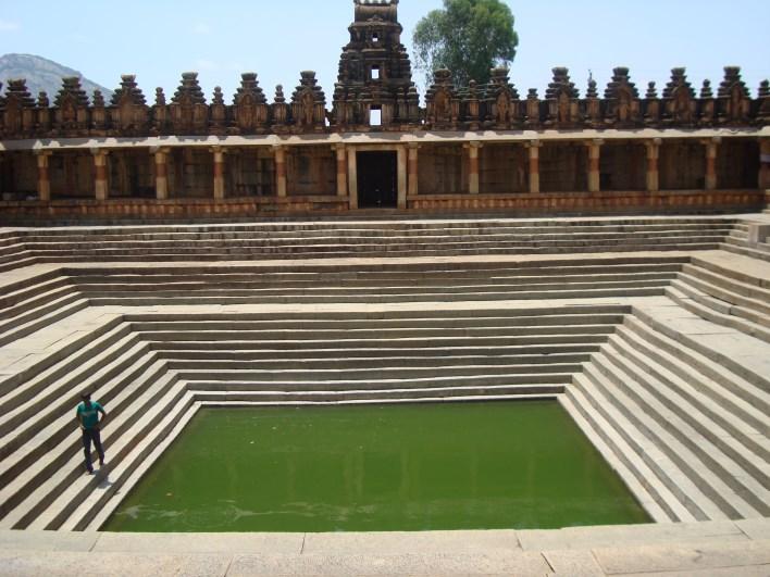 Amrutha Sarovar, Bhoganandishwara Temple, Nandi Hills