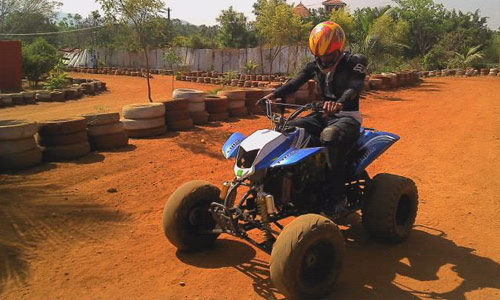 Quad Biking in Bangalore. Image source Thrillophilia