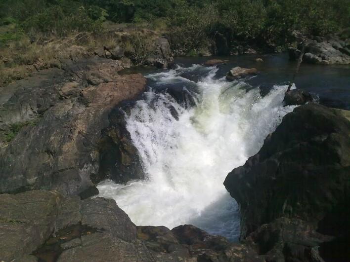 Jomlu Theertha Falls. Photographer Rakshith Birthi