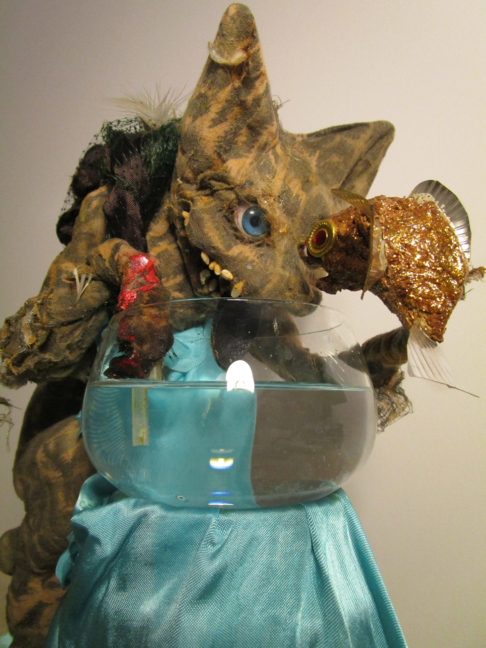 Artistic toy - the toy cat - cat toy - photo 23.