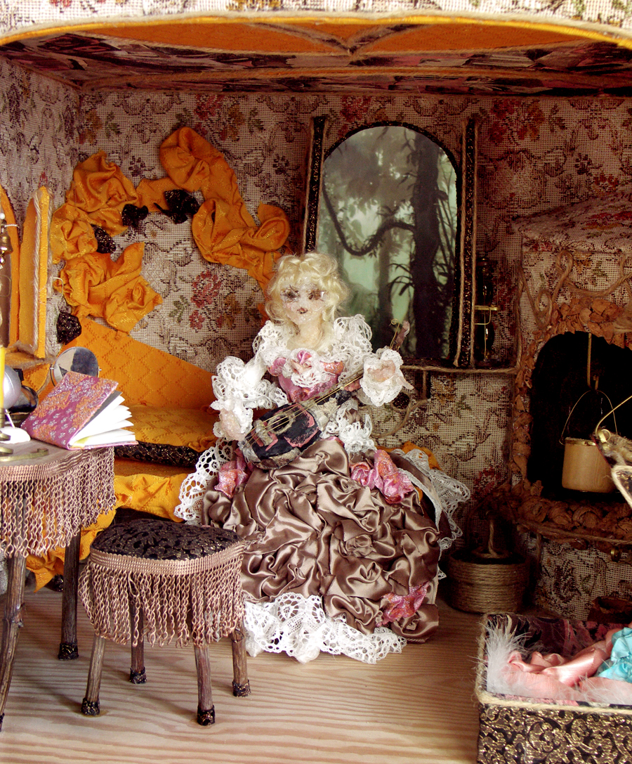 The Doll and her House, 1995, Anna Maria Karolak. Photo 05. Doll`s House - Doll House - Artistic Toy.