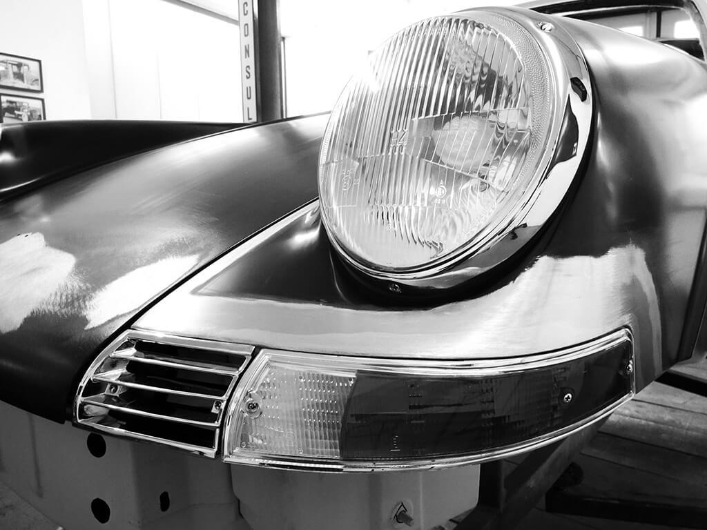 Porsche 911 Targa S, Karosserie-Restauration