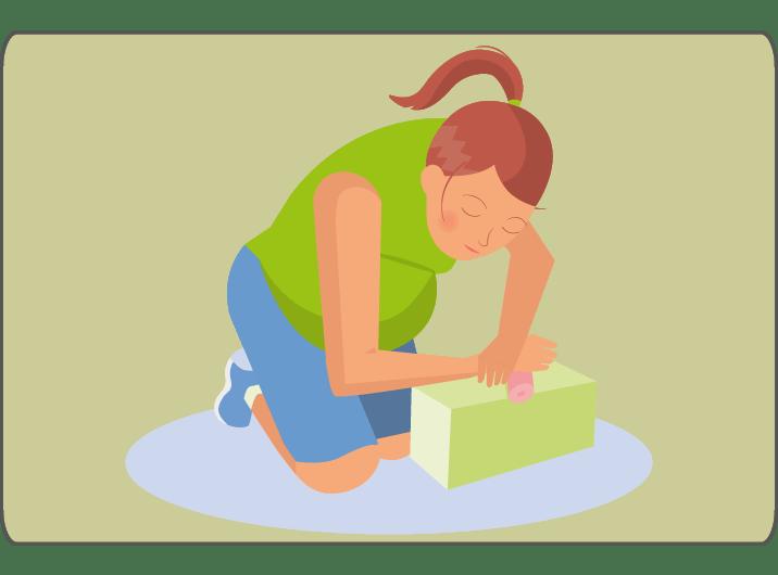 Die Faszienmassage der Hand und des Unterarms kann die Schmerzen beim Karpaltunnel-Syndrom in der Schwangerschaft verbessern.