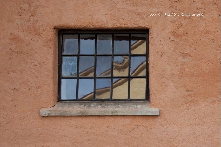 Wo ist das? Spiegelungen zeigen uns Dinge die wir kennen von einer anderen Seite!