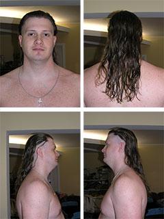 Подстригся типа :)