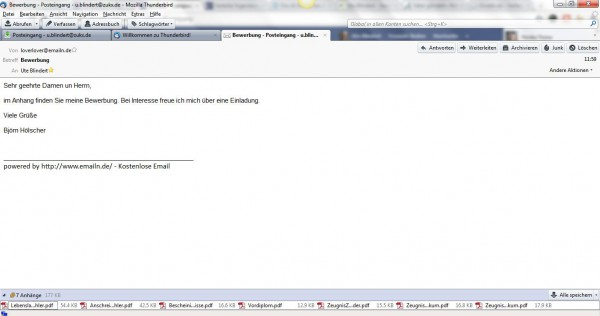 seriöse email adresse wenn name vergeben