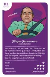 "Jürgen Jausemann, der Vertriebler aus dem ""Kampf der Abteilungen""-Quartett"