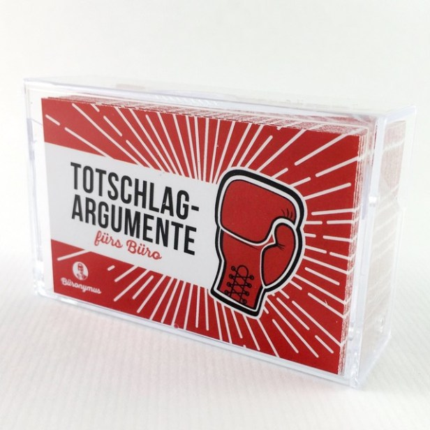 Totschlagargumente. Bild: Fonski Verlag