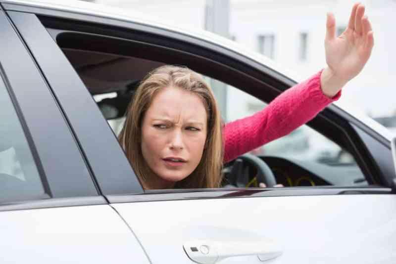 Angry woman driver2