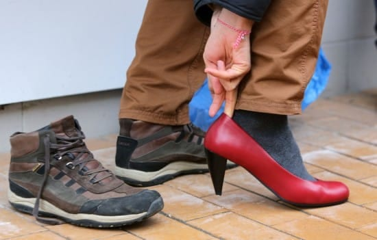 Sometimes developing empathy requires walking a mile in someone else's shoes (Cylonphoto / Shutterstock.com)