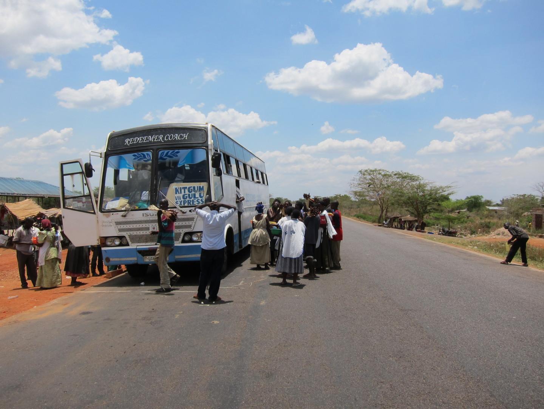 bus in uganda