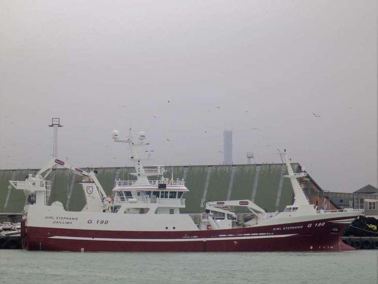 Nya G 190 Girl Stephanie på Karstensens Skibsværft