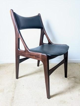vintage teakhouten stoelen