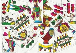 Mariášové karty, typy, rozdělení