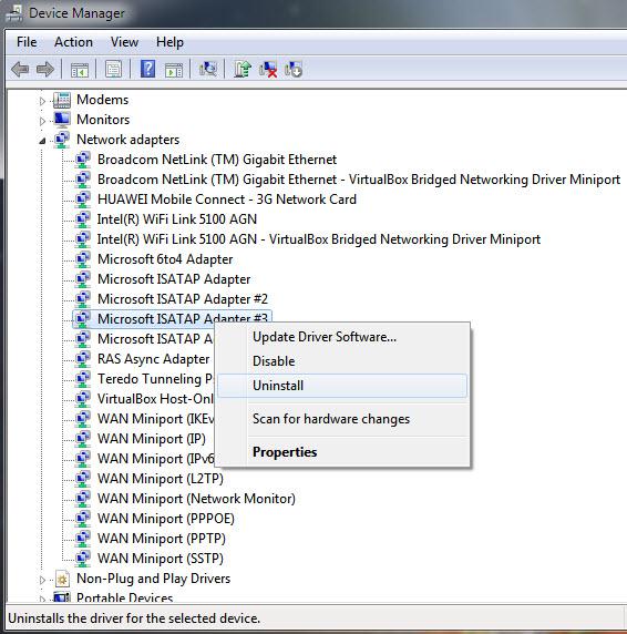 device-manager-uninstall-isatap-adapter1