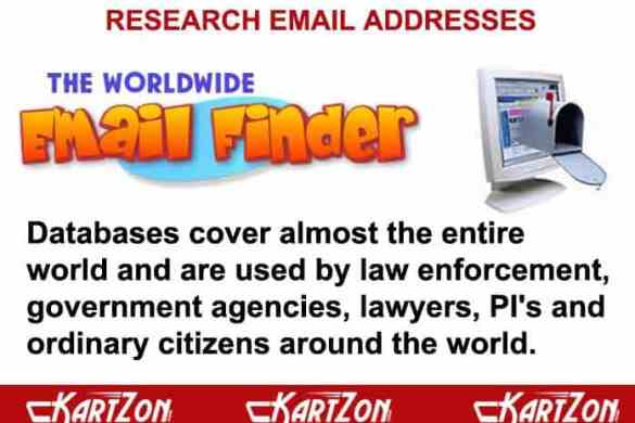 Email finder kartzon 2