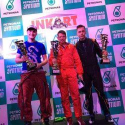 INKART Summer GP's 2017 - podium