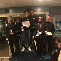 Bilzer Karting kerstrace 2017 - podium