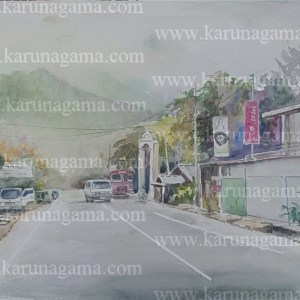 Online, Art, Art Gallery, Online Art Galley, Sri Lanka, Karunagama, Watercolor, Water Colour, Street paintings, Streets, Sri lanka streets, Landscapes, Sri lanka Landscapes, Water Colors, Paintings, Sri Lanka, Online Arts, Art Gallery, Sarath Karunagama, Online Art Gallery, Portrait, Landscape, Street, Van, Sri lanka paintings,