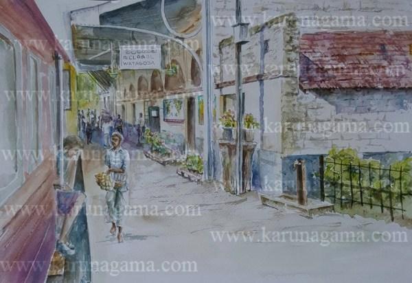Online, Art, Art Gallery, Online Art Galley, Sri Lanka, Karunagama, Watercolor, Water Colour, Railway Station, Watagoda, Sri Lankan railway, Water Colors, Paintings, Sri Lanka, Online Arts, Art Gallery, Sarath Karunagama, Online Art Gallery, Water Colors, Paintings, Sri Lanka, Online Arts, Art Gallery, Sarath Karunagama, Online Art Gallery, Portrait, Landscape, Railways, Sri lanka paintings,