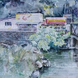 Online, Art, Art Gallery, Online Art Galley, Sri Lanka, Karunagama, Watercolor, Water Colour, Hotels, Bridges, Bridges paintings, Water Colors, Paintings, Sri Lanka, Online Arts, Art Gallery, Sarath Karunagama, Online Art Gallery, Portrait, Landscape, Hotel, Bridge,, Sri lanka paintings,