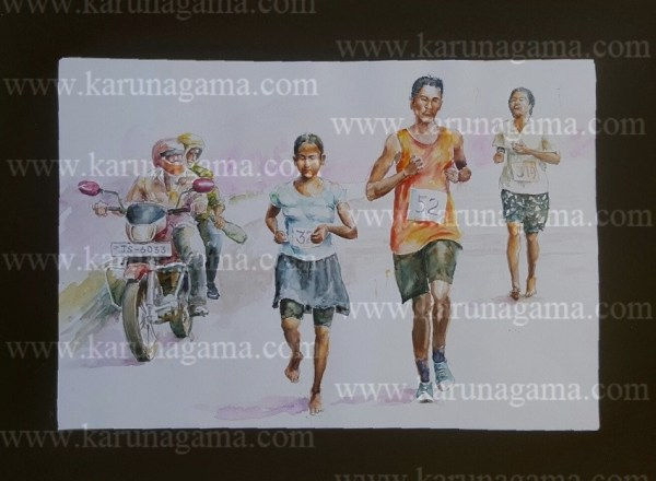 Online, Art, Art Gallery, Online Art Galley, Sri Lanka, Karunagama, Watercolor, Water Colour, School Marothon, Marothon paintings, Sri lanka Sports, Sri lanka Running race, Water Colors, Paintings, Sri Lanka, Online Arts, Art Gallery, Sarath Karunagama, Online Art Gallery, Portrait, Landscape, Students, School, Marathon, Sri lanka paintings,