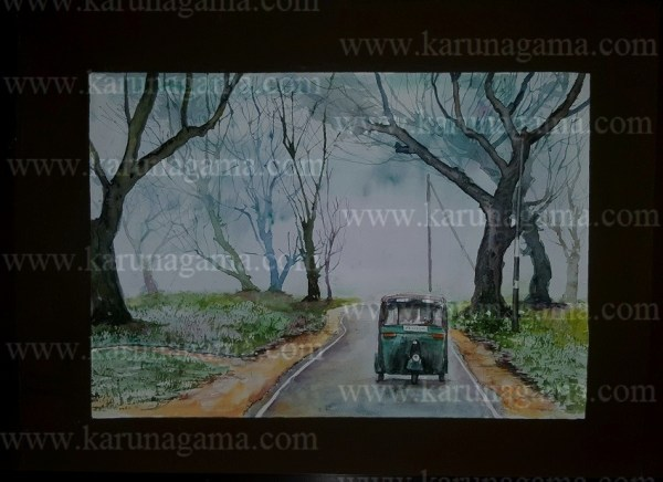 Online, Art, Art Gallery, Online Art Galley, Sri Lanka, Karunagama, Watercolor, Water Colour, Landacapes of Sri lanka, Paintings of Sri Lanka, Sri lanka paintings,