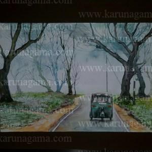 Online, Art, Art Gallery, Online Art Galley, Sri Lanka, Karunagama, Watercolor, Water Colour, Landacapes of Sri lanka, Paintings of Sri Lanka, Sri lanka paintings,