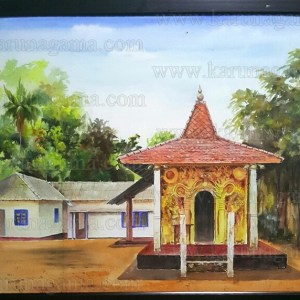 Art, Art Gallery, Ceylon, Karunagama, Kothmale reservoir., Kotmale, Landscapes, Landscapes in Sri lanka, Old Sri lanka, Online, Online Art Gallery, Sceneries in Sri lanka, Sri Lanka, Trekkiing in Sri lanka, Pusulpitiya, Pusulpitiya temple, Pusulpitiya rajamaha viharaya.
