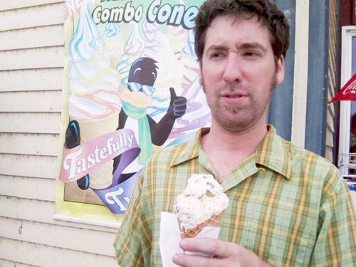 Photo title: Ice Cream Penguin