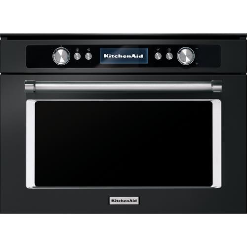 kitchenaid kmqcxb 45600 microwave built in combination microwave 40 l 900 w black