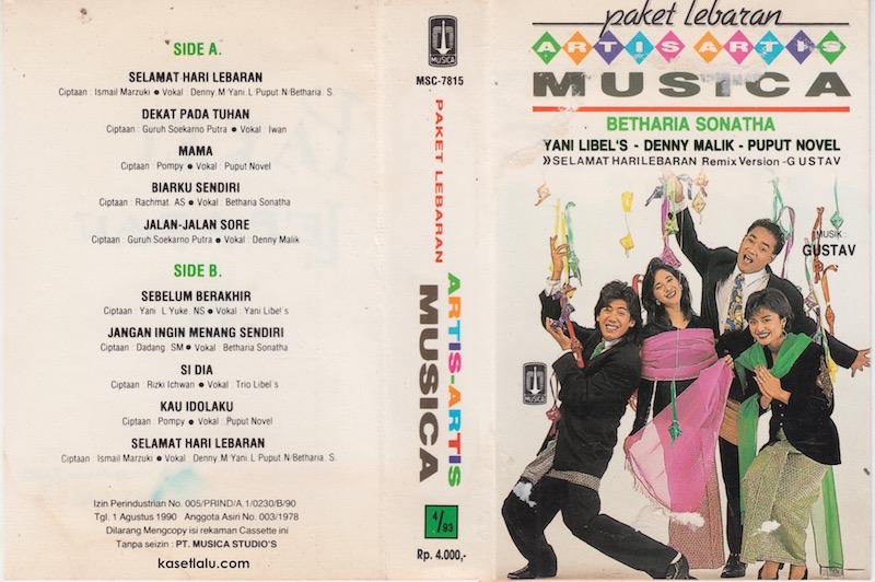 Artis Artis Musica Betharia Sonatha Yani Libel S Denny Malik