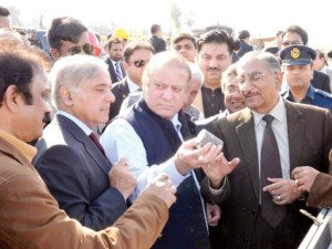 Sharifs in Chiniot Pakistan
